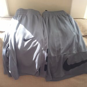 2 pair of Nike Elite Shorts